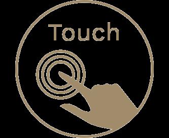 Modern touchpanel.
