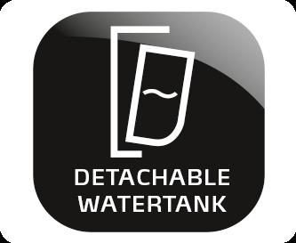 Uitneembaar waterreservoir