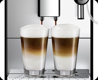 In hoogte verstelbare koffieuitloop